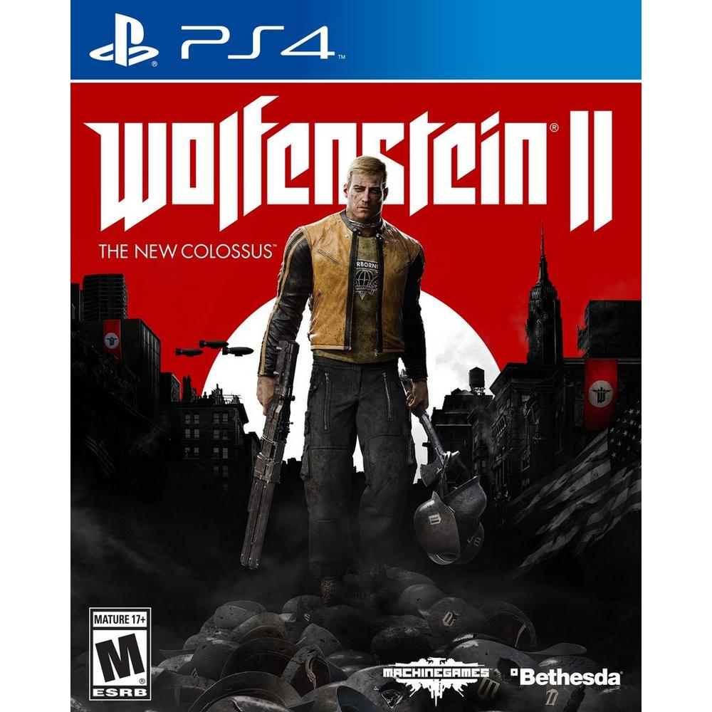 Wolfenstein II: The New Colossus | PlayStation 4 | GameStop