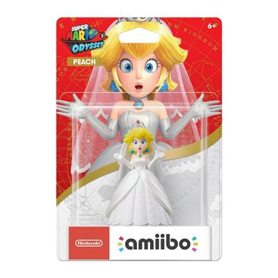 Peach (Wedding Outfit) Super Mario Odyssey amiibo Figure