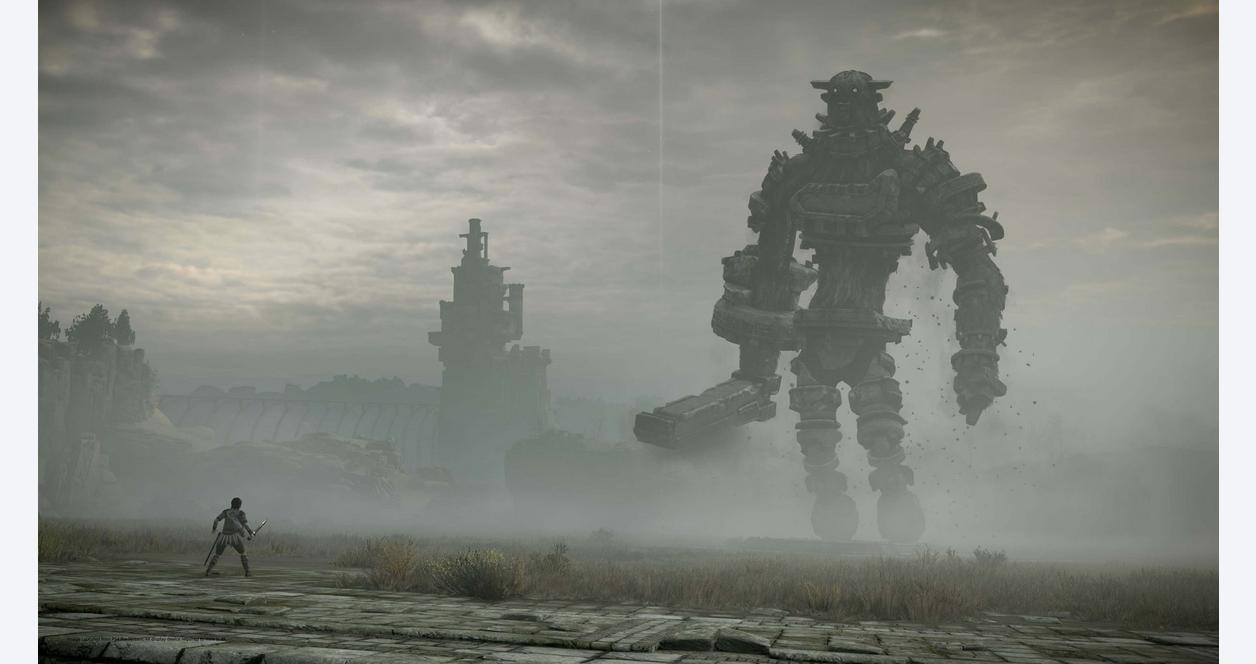 Shadow Of The Colossus Playstation 4 Gamestop
