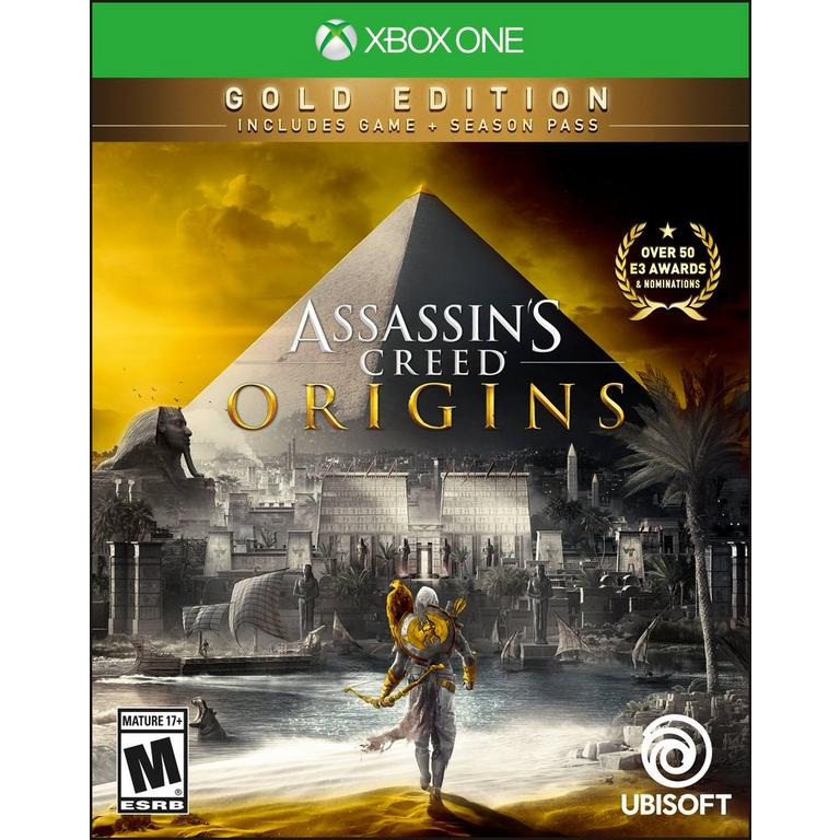 Assassin S Creed Origins Gold Edition Xbox One Gamestop