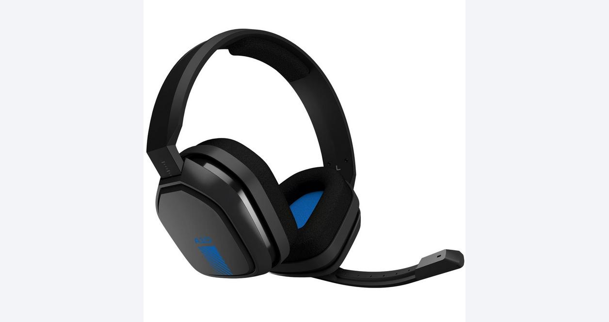 A10 Black Wired Gaming Headset for PlayStation 4