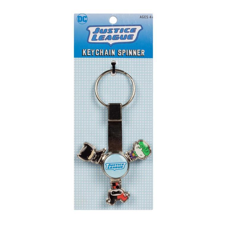 Batman Justice League Spinning Keychain