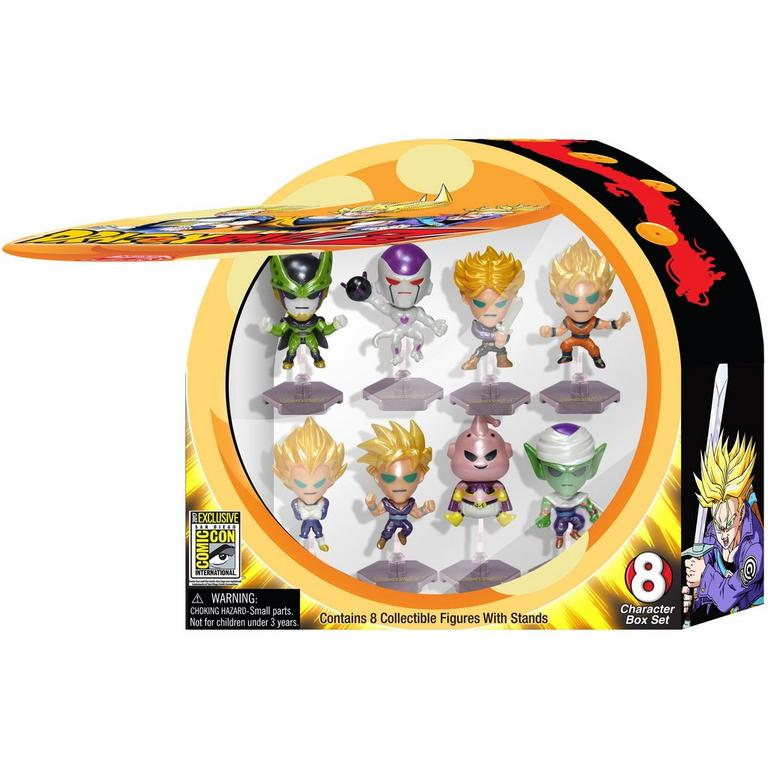 Dragon Ball Z 8 Piece Figure Set Series 1 Summer Convention 2017 Exclusive