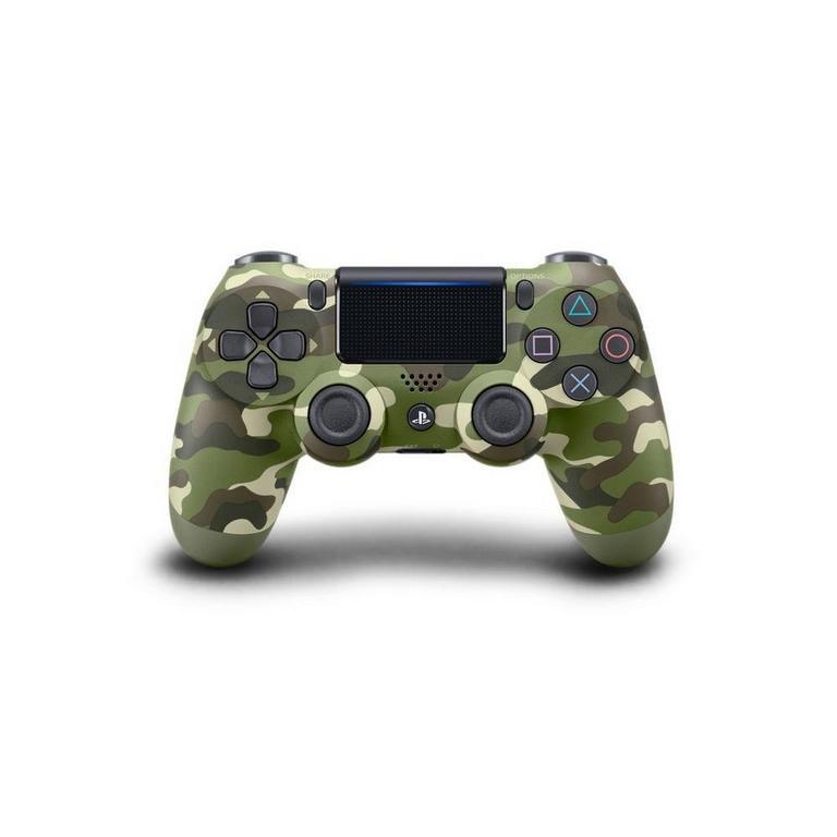 Sony DUALSHOCK 4 Green Camo Controller