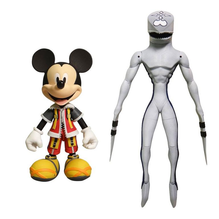 Kingdom Hearts II King Mickey & Dusk Figure