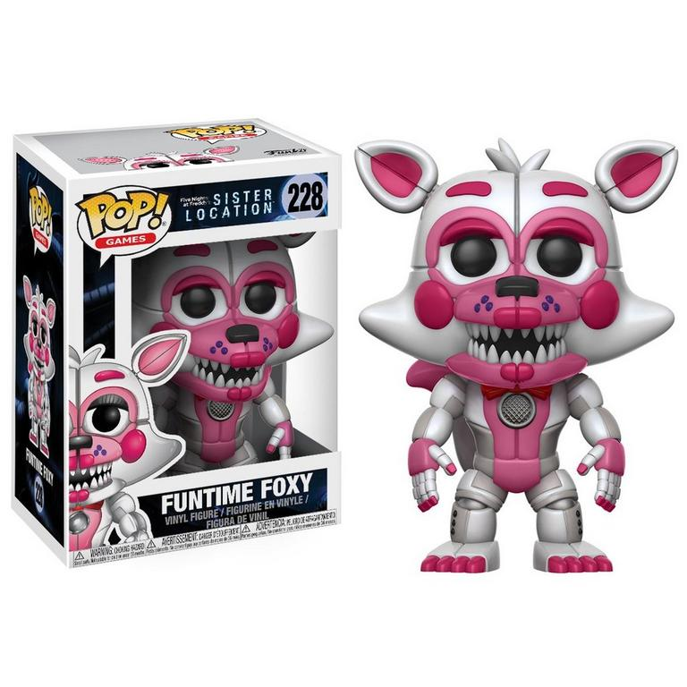 POP! Games: Five Nights Sister Location - Funtime Foxy