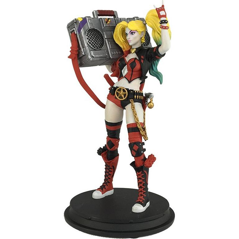 DC Rebirth Harley Quinn Boombox PX Statue Summer Convention 2017 Exclusive