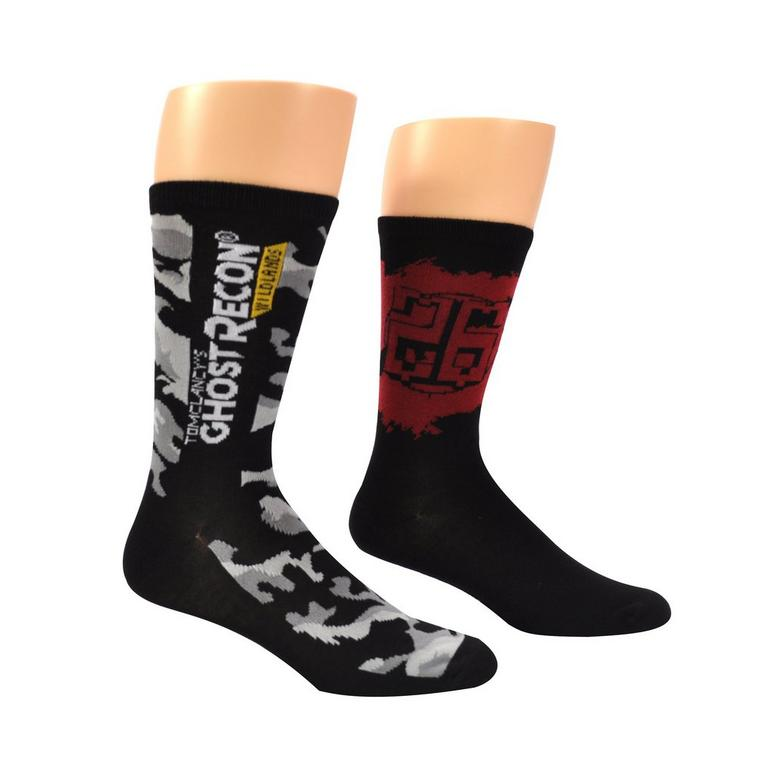 Tom Clancy's Ghost Recon: Wildlands Unisex Crew Socks 2 Pack