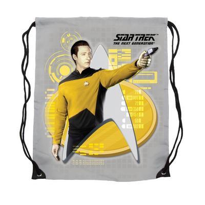 Star Trek Commander Data Cinch Bag