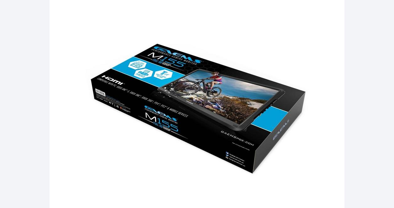 M155 HD Gaming Monitor 15.6 in