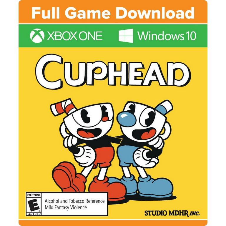 StudioMDHR Digital Cuphead Xbox One Download Now At GameStop.com!