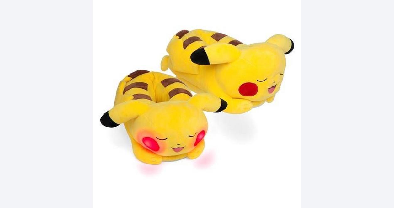 Pokemon Pikachu Light Up Slippers