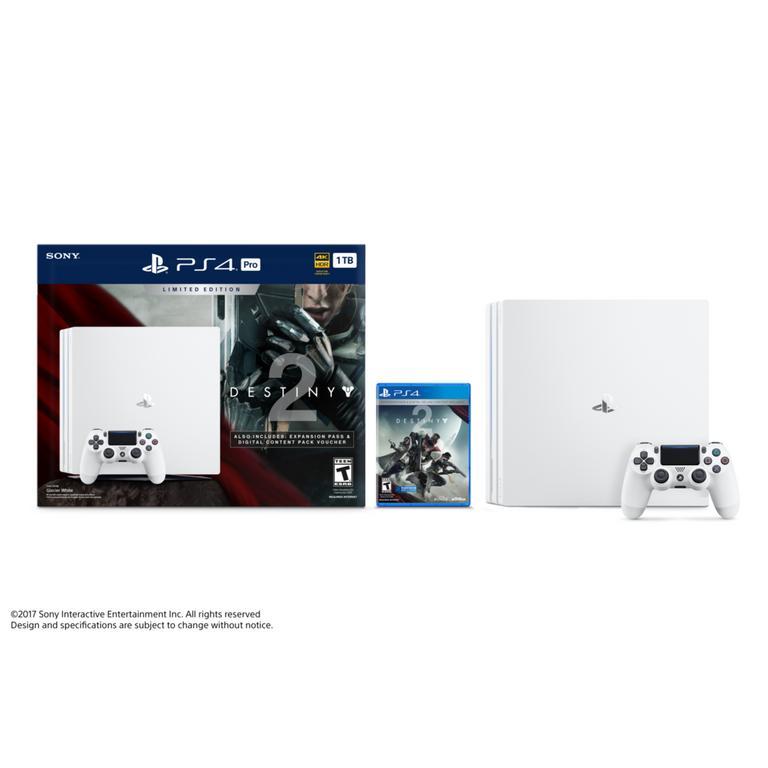 PlayStation 4 Pro Destiny 2 Limited Edition Bundle 1TB