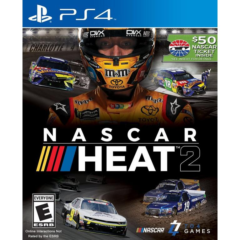 Nascar Racing Games >> Nascar Heat 2 Playstation 4 Gamestop
