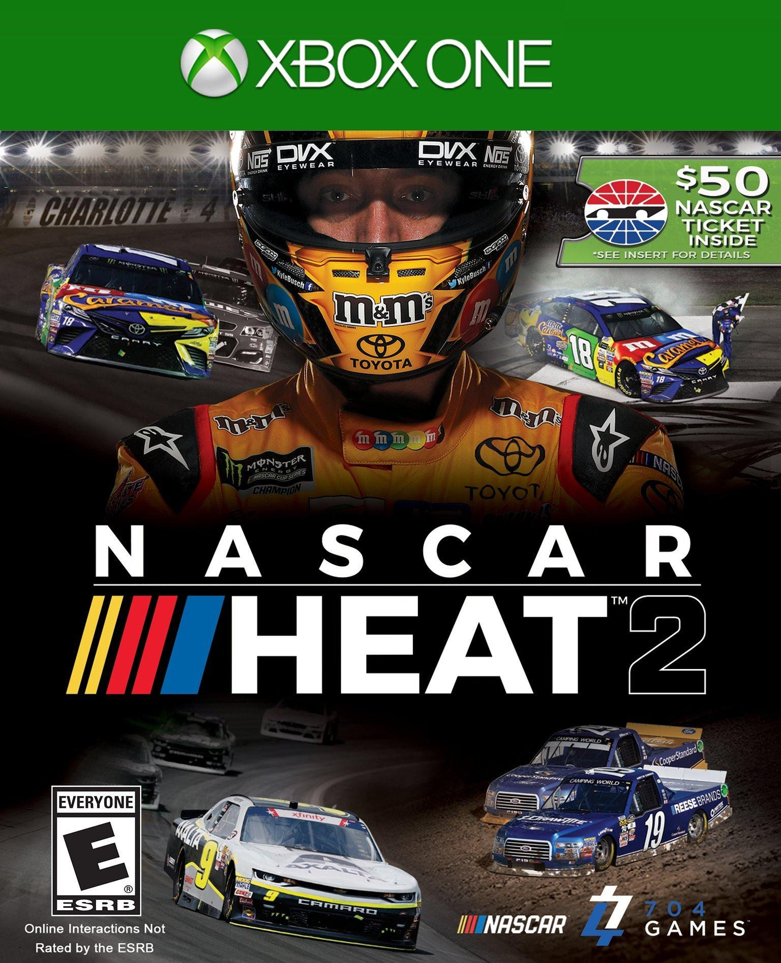 Nascar Racing Games >> Nascar Heat 2 Xbox One Gamestop