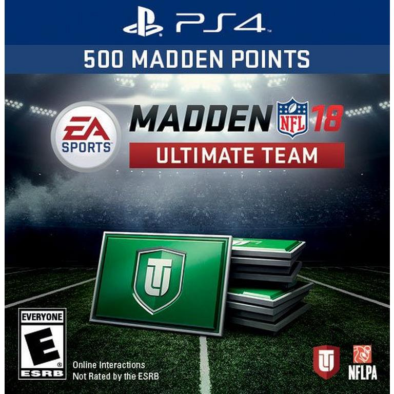 Madden NFL 18 1,050 Ultimate Team Points
