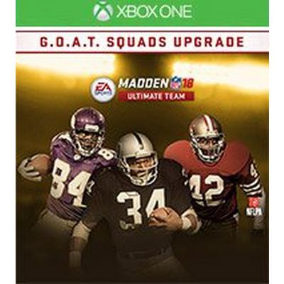 Madden NFL 18 G.O.A.T. Squads Upgrade
