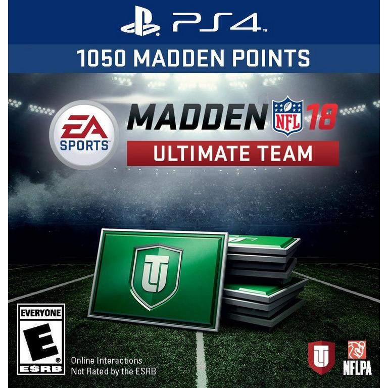 Madden NFL 18 Ultimate Team: 1050 Points