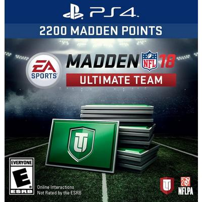 Madden NFL 18 Ultmate Team: 2200 Points