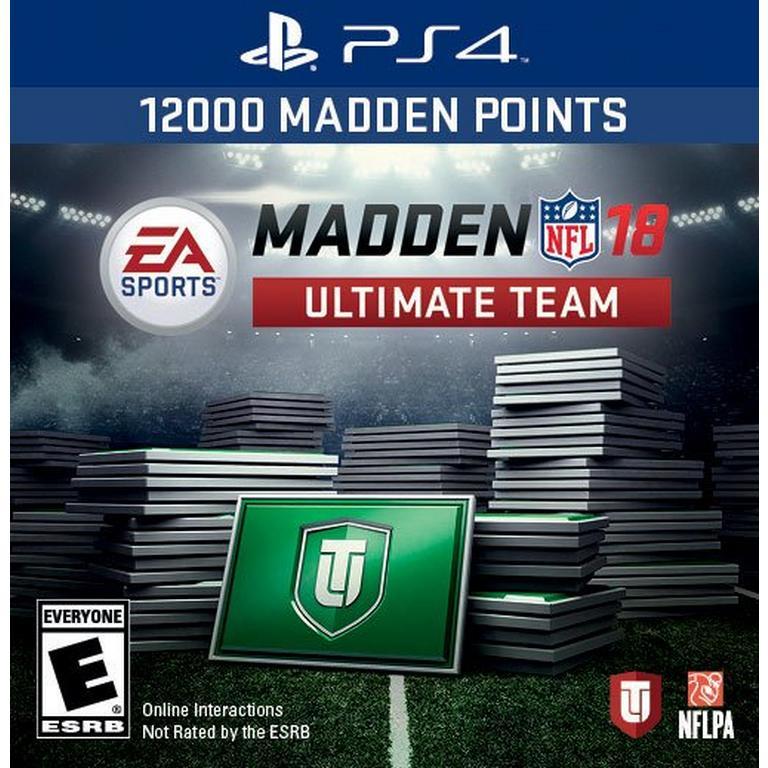 Madden NFL 18 Ultimate Team: 12000 Points