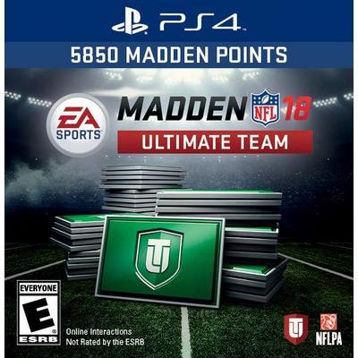 Madden NFL 18 Ultimate Team: 5850 Points
