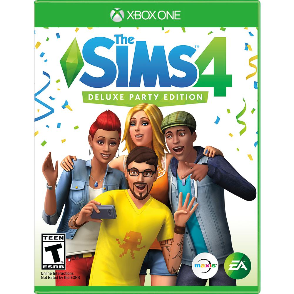 The Sims 4 Deluxe Party Edition | Xbox One | GameStop