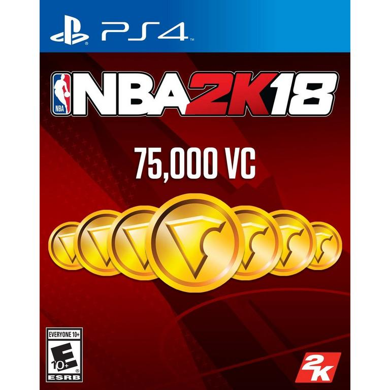 NBA 2K18 75,000 Virtual Currency