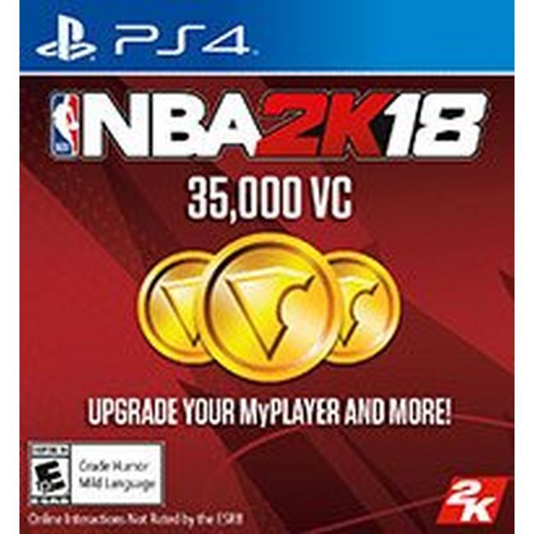 NBA 2K18 35,000 Virtual Currency
