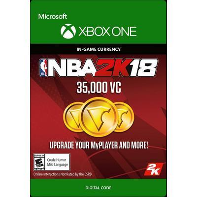 NBA 2K18 35000 Virtual Currency Digital Card