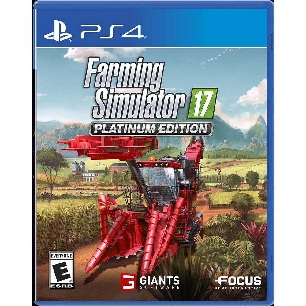 Farming Simulator 17 Platinum | PlayStation 4 | GameStop