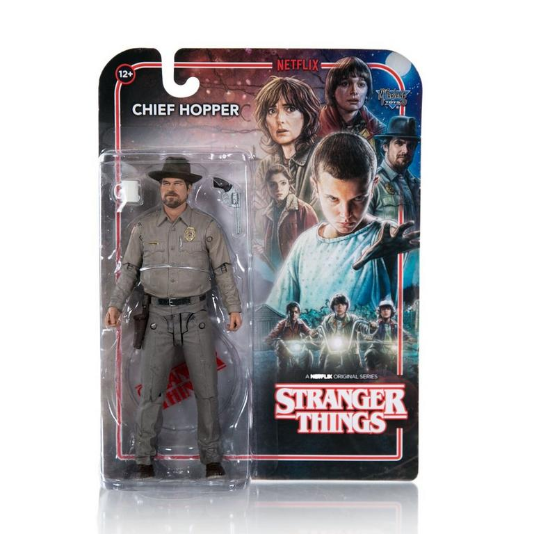 Stranger Things 7 inch Action Figure - Chief Hopper