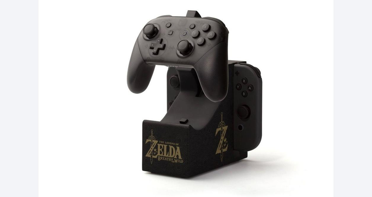 Nintendo Switch Joy-Con and Pro Controller Charging Dock The Legend of Zelda Breath of the Wild