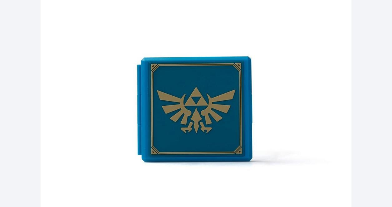 Nintendo Switch Premium Game Card Case - Zelda Hylian Crest
