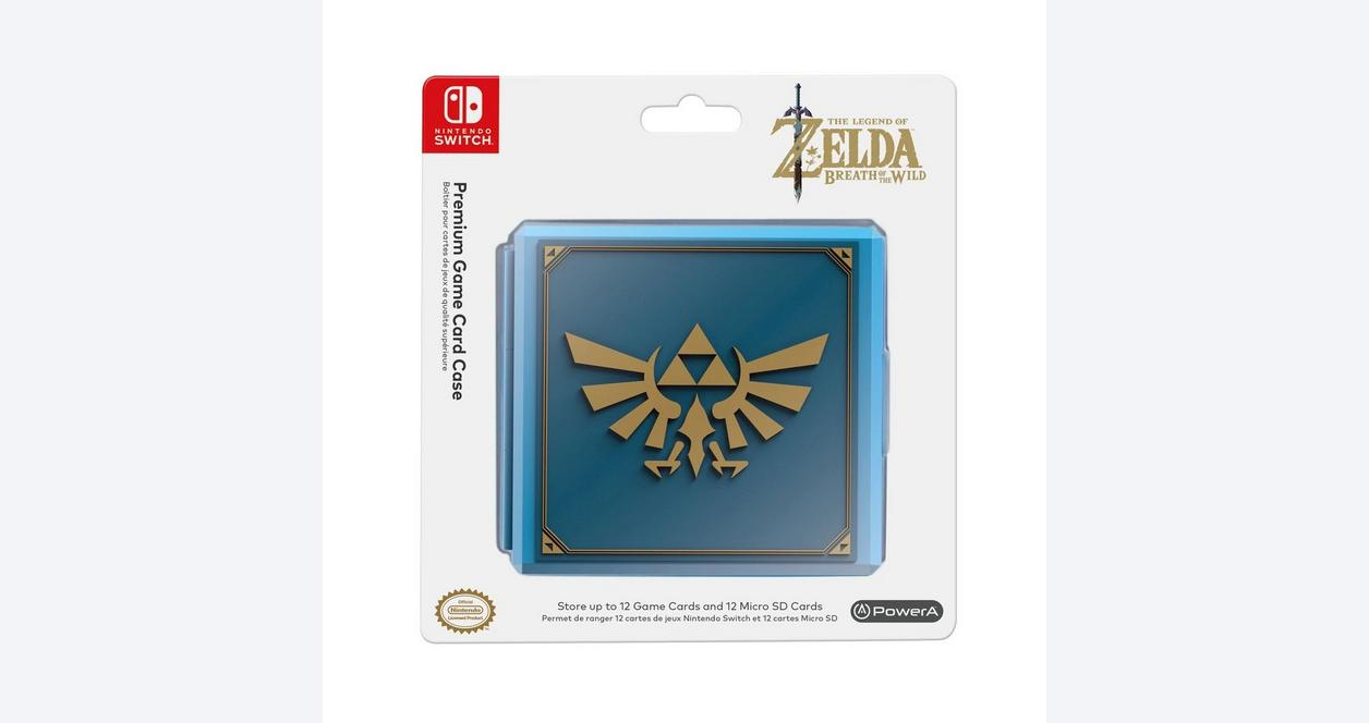 The Legend Of Zelda Breath Of The Wild Premium Game Card Case For Nintendo Switch Nintendo Switch Gamestop