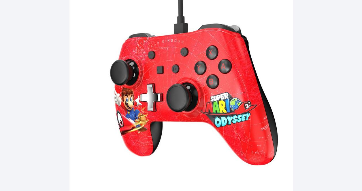 Nintendo Switch Wired Controller Plus Super Mario