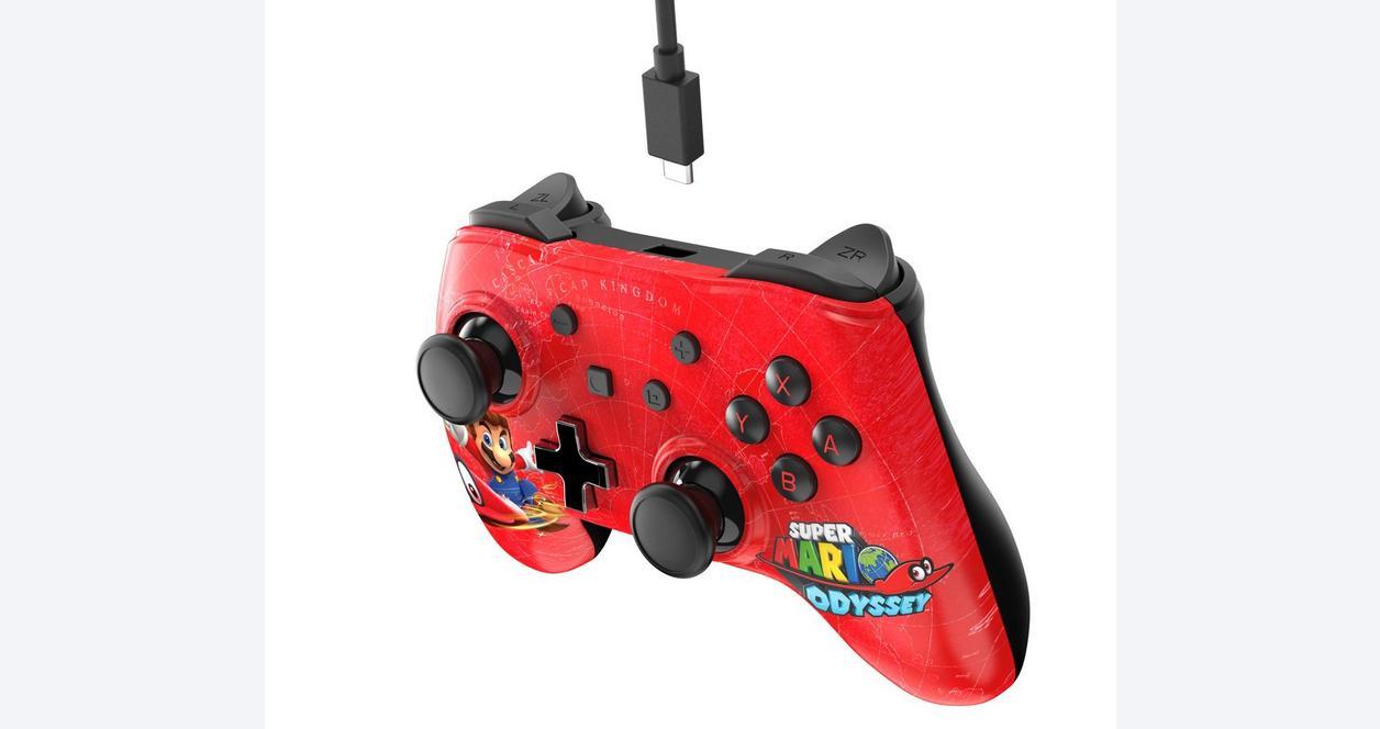 Nintendo Switch Wired Controller Plus Super Mario Odyssey