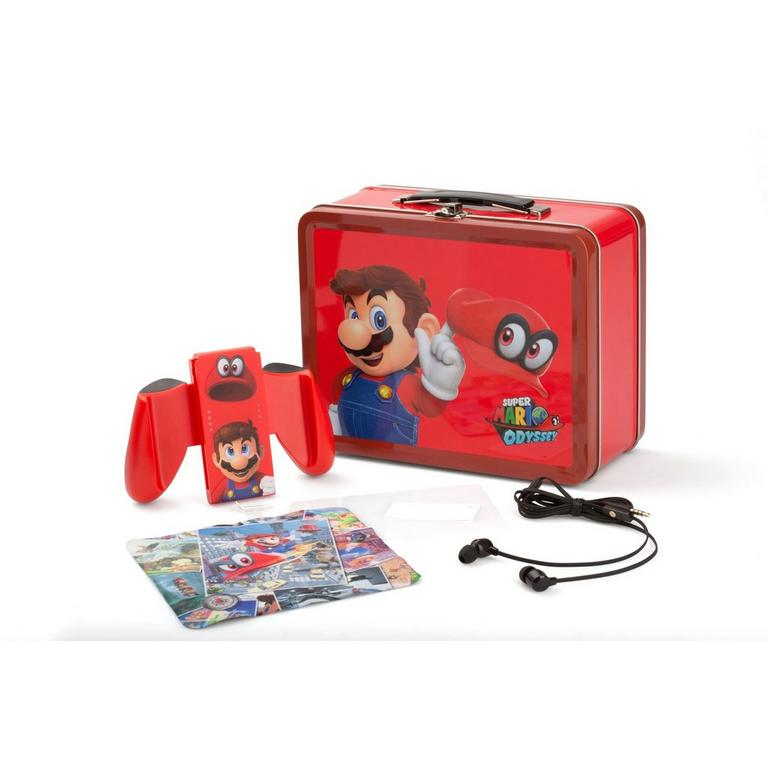 Nintendo Switch Collectible Lunchbox Kit Super Mario Odyssey Edition - Only at GameStop