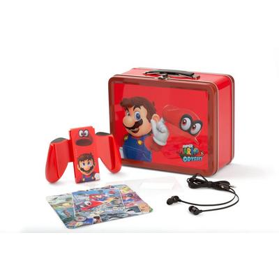 Nintendo Switch Collectible Lunchbox Kit Super Mario Odyssey Edition Only at GameStop