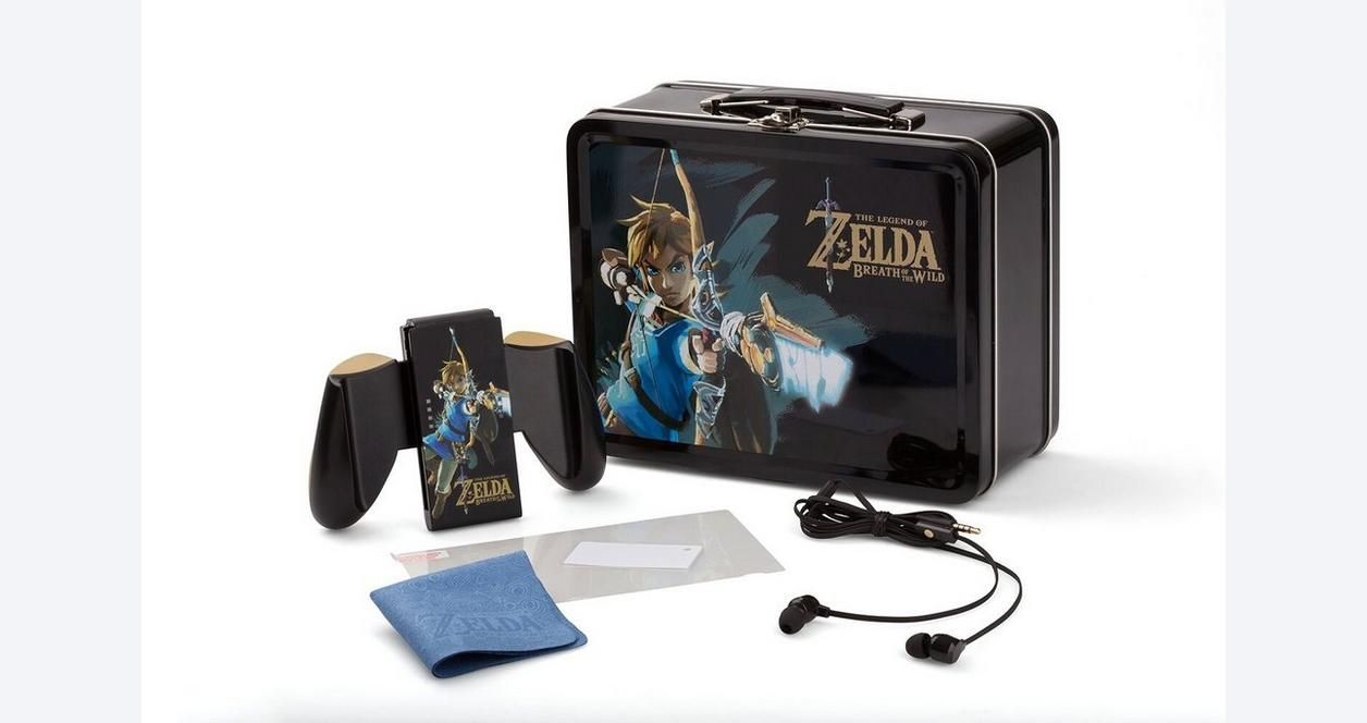The Legend of Zelda: Breath of the Wild Link's Bow Lunchbox Kit for Nintendo Switch Only at GameStop