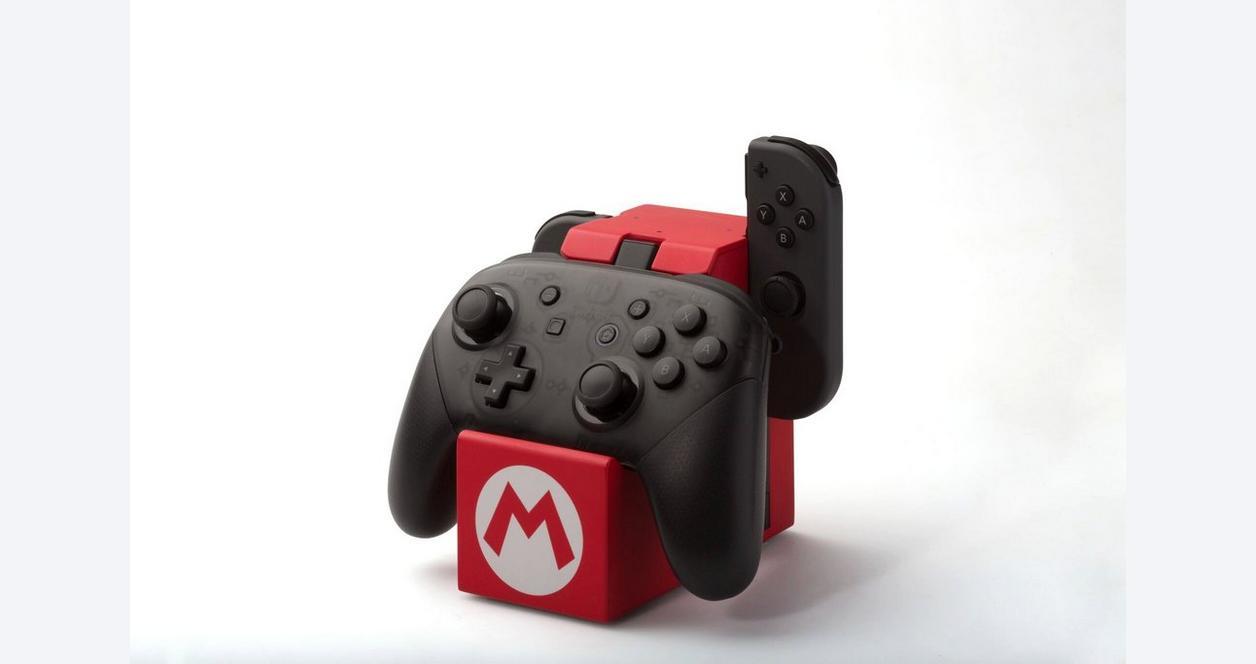 Nintendo Switch Joy-Con and Pro Controller Charging Dock Super Mario Edition