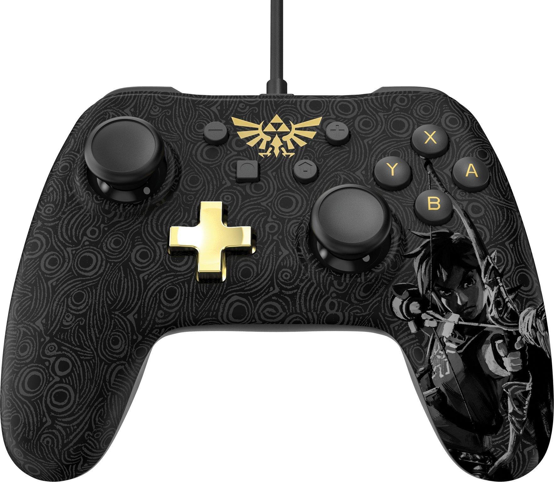Nintendo Switch Wired Controller Plus - Zelda: Breath of the Wild |  Nintendo Switch | GameStop