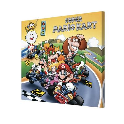 Mario Kart Retro Mini Canvas