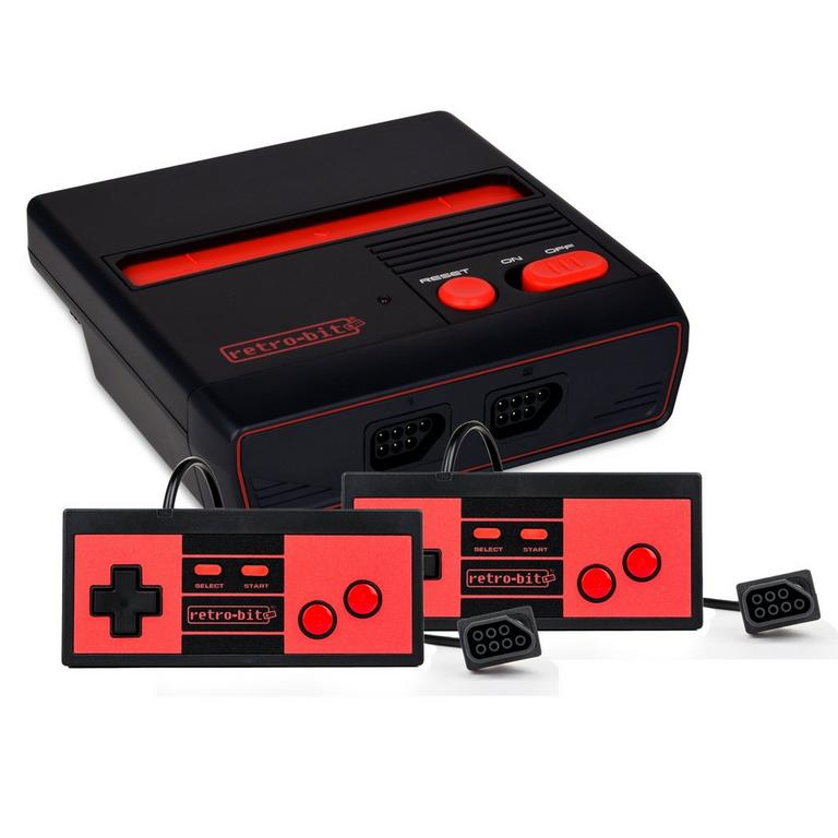 RES Plus - Console - 8-Bit - HD Top Loader - Black/Red (Retro-Bit)