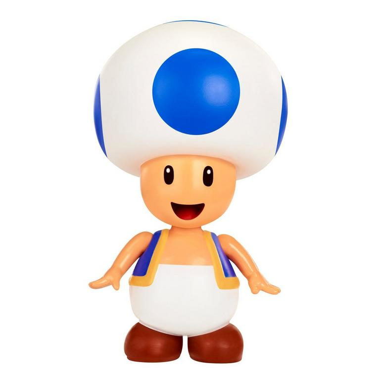 World of Nintendo 4 inch Figure - Toad with Coin Accessory