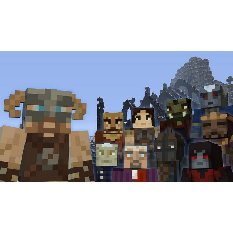 Minecraft: Wii U Edition - Skyrim Mash-Up Pack