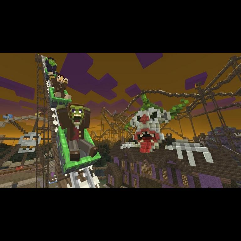 Minecraft: Wii U Edition Halloween 2015 Mash-Up Pack