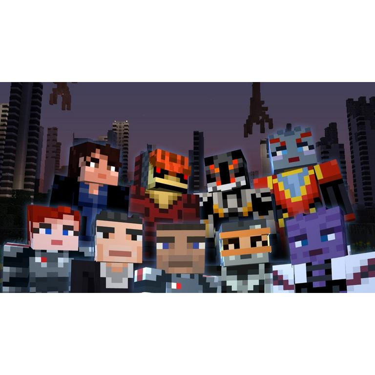 Minecraft: Wii U Edition - Mass Effect Mash-Up Pack