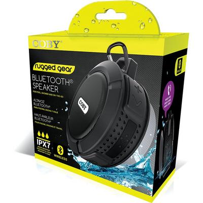 Coby IXP7 Water-Resistant Bluetooth Suction Speaker