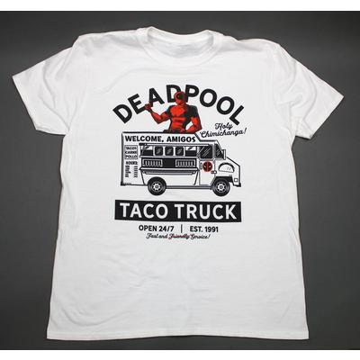 Deadpool Taco Truck T-Shirt