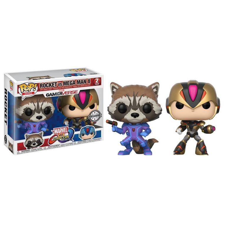 POP! Games: Marvel vs. Capcom Infinite - Rocket and Mega Man X 2 Pack - Only at GameStop